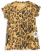 Mini Rodini Infant Girl's Leopard Print Dress