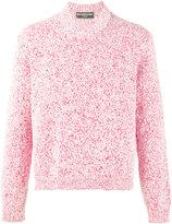 Balenciaga round neck tuck in sweater - men - Cotton/Polyamide - S