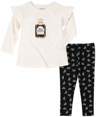 Juicy Couture Girls' 2 Pieces Leggings Set Pants