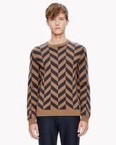 Theory Merino Broken Herringbone Sweater