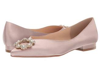Betsey Johnson Blue By Blue by Diana Flat (Nude Satin) Women's Flat Shoes