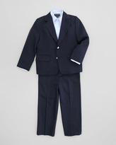 Oscar de la Renta Boys' Classic Pants, Navy