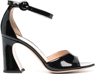 Gianvito Rossi 80mm Block Heel Sandals