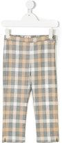 Il Gufo check pattern trousers