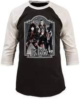 Impact Kiss Glam Hard Rock Band Glitter '76 Adult Baseball Jersey T-Shirt Tee