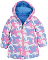 Hatley Winter Puffer (Toddler/Kid) - Puzzle Piece Horses-7