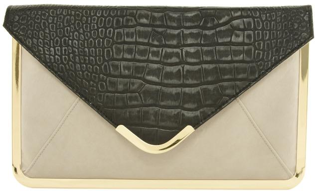 Asos Metal Frame Clutch Bag