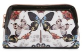 Ted Baker Butterfly Print Cosmetics Case