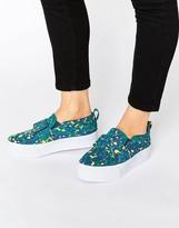 Asos DARCY Bow Flatform Sneakers