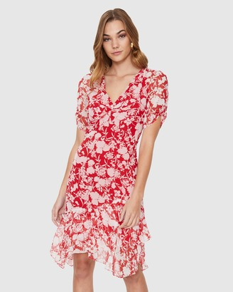 Cooper St Harlem Ruffle Hem Dress