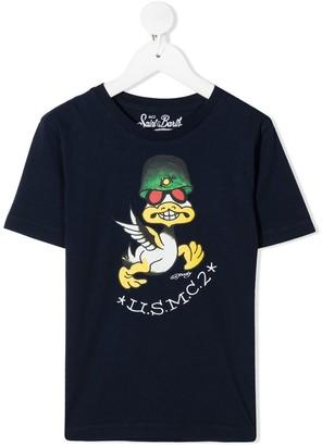 MC2 Saint Barth Hardy Duck print T-shirt