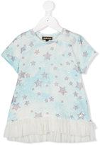 Roberto Cavalli star print T-shirt - kids - Cotton - 4 yrs