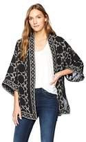 Max Studio MAXSTUDIO Women's Printed Kimono
