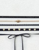 American Eagle Outfitters AE Mixed Material 5-Pack Choker