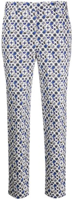 Paul Smith Beetle Print Straight-Leg Trousers