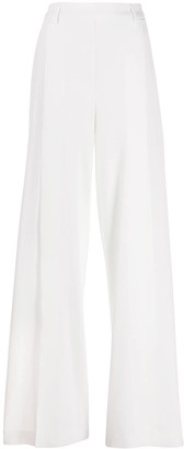 Blumarine Split Front Wide Leg Trousers