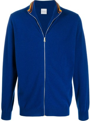 Paul Smith Fine Knit Zipped Jacket