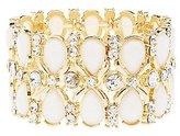 Charlotte Russe Gemstone Stretch Cuff Bracelet