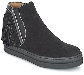 Unisa CELIN girls's Mid Boots in Black