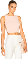 Jonathan Simkhai for FWRD Knit Lace-up Top