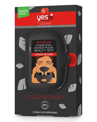 Yes To Tomatoes Charcoal Paper Mask Box