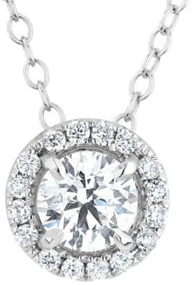 Diana M Fine Jewelry 18K 1.60 Ct. Tw. Diamond Necklace