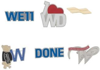 we11done Logo Pin Set
