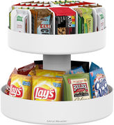 MINDREADER Mind Reader 'Supreme' Lazy Susan 3-Tiered Snack Organizer