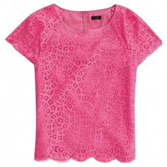 J.Crew Pink Cotton Top for Women
