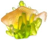 Daum Small Fish Anemone Figurine