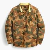 Barbour camo shirt jacket