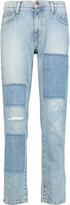 Current/Elliott The Fling patchwork boyfriend jeans