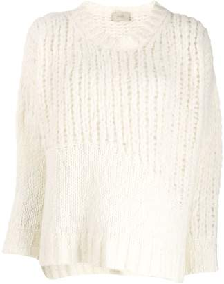 Maison Flaneur long-sleeve knitted sweater