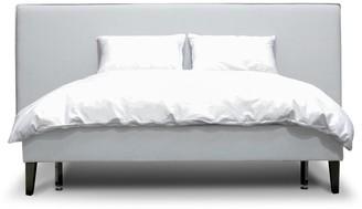 Calibre Furniture Aiden Bed Queen Cement Grey