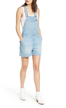 Lee Relaxed Fit Denim Short Overalls