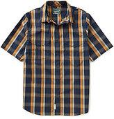 Woolrich Desert View Short-Sleeve Plaid Woven Shirt