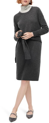 J.Crew Everyday Long Sleeve Cashmere Crewneck Dress