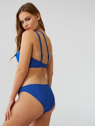 Boux Avenue Panama Twist Front Brief - Cobalt Blue