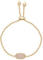 Kendra Scott Elaina Bracelet in Metallic Gold.