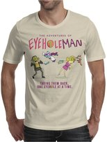 TopLAD The Adventures of Eyehole Man [Rick and Morty] Mens T-Shirt /