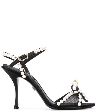 Dolce & Gabbana Pearl-Embellished Sandals