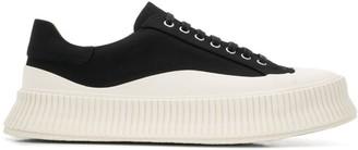 Jil Sander Contrast Sole Sneakers