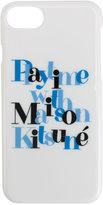 MAISON KITSUNÉ printed iPhone 6 case - unisex - Polycarbonite - One Size
