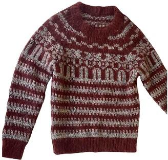 Isabel Marant Burgundy Wool Knitwear for Women