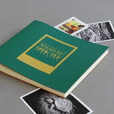 Undercover Large Leather 'Photographs Don't Grow Old Photo Album