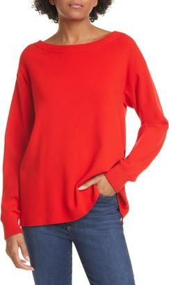 Alice + Olivia Ruela Split Back Hardware Detail Sweater
