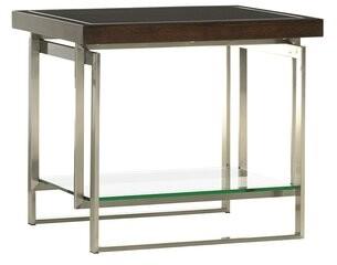 Lexington MacArthur Park Granville Sled End Table with Storage