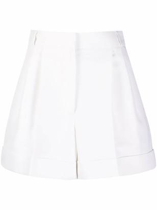 Alexander McQueen High-Waisted Tailored Shorts
