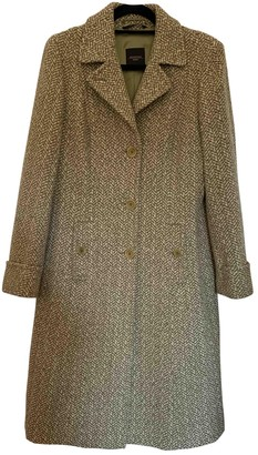 Max Mara Weekend Green Tweed Coat for Women
