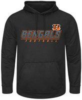 Majestic Men's Cincinnati Bengals Punt Return Big & Tall Hooded Sweatshirt